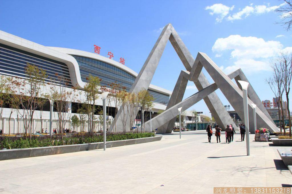 火车站大型门头雕塑